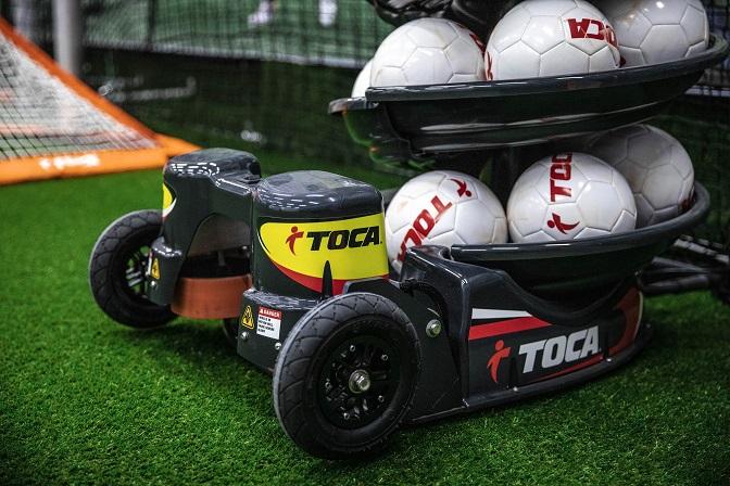 A Toca Touch Trainer labdaadogató gép!