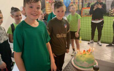 Tartsd születésnapod vagy gyermeked születésnapját a First Touch edzőteremben!